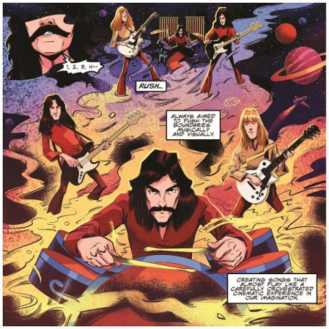 Rush - The Making Of Farewell To Kings - Graphic_Novel - Cover