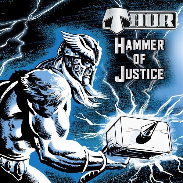 Thor - Hammer Of Justice - Album Cover