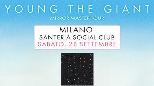 Young The Giant - Mirror Master Tour - Santeria Social Club - Live 2019 - Promo
