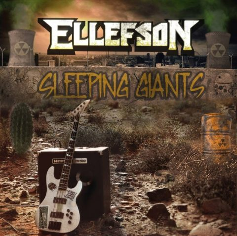 David Ellefson - Sleeping Giants - Album Cover
