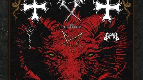 Mayhem - Gaahls Wyrd - Gost - Magazzini Generali - Tour 2019 - Promo