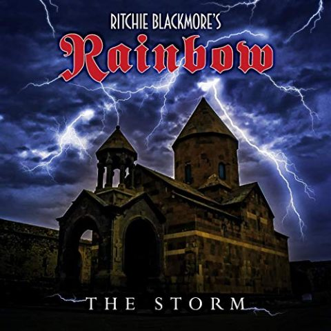 Ritchie Blackmore's Rainbow - The Storm - Single Cover