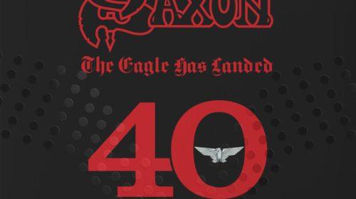 Saxon - The Eagle Has Landed 40 Live - Album Cover