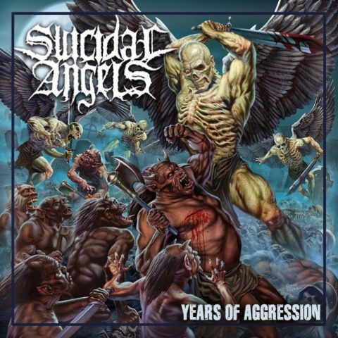 Suicidal Angels - Years Of Aggression - Album Cover