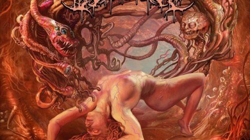 Visceral Disgorge - Slithering Evisceration - Album Cover