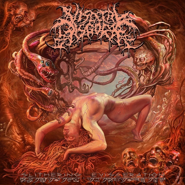 Visceral Disgorge - Slithering Evisceration - Album Cover