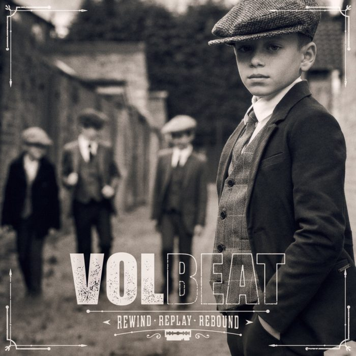 Volbeat - Rewind Replay Rebound - Album Cover