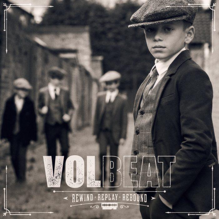 Volbeat - Rewind Replay Rebound - Album Cover