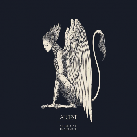 Alcest - Spiritual Instinct - Album Cover