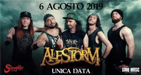 Alestorm - Slaughter Club - Tour 2019 - Promo
