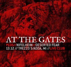 At The Gates - Nifelheim - Desrted Fear - Live Club - Tour 2019 - Promo