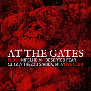At The Gates - Nifelheim - Desrted Fear - Live Club - Tour 2019 - Promo