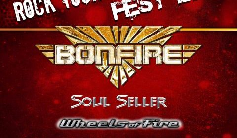Bonfire - Soul Seller - Wheels Of Fire - Saints Trade - Slaugher Club - Rock Your Xmas Fest 2019 - Promo