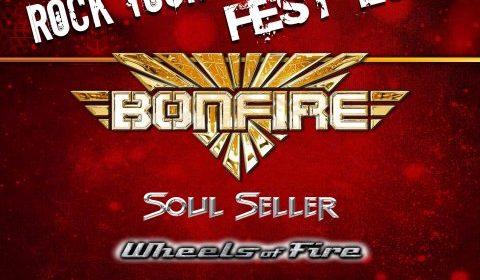Bonfire - Soul Seller - Wheels Of Fire - Saints Trade - Slaugher Club - Rock Your Xmas Fest 2019 - Promo