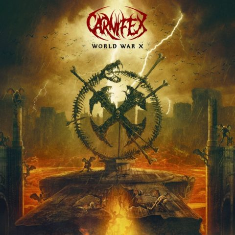 Carnifex - World War X - Album Cover