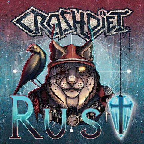 Crashdiet - Rust - Album Cover