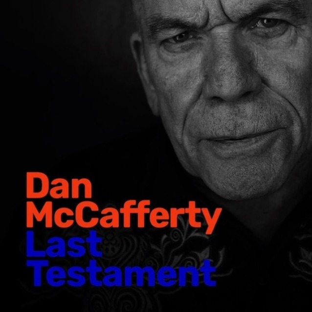 Dan McCafferty - Last Testament - Album Cover