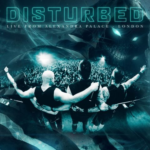 Disturbed - Live From Alexandra Palace London - EP Cover