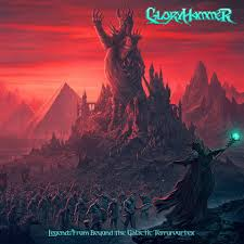 Gloryhammer - Legends From Beyond The Galactic Terrorvortex - Album Cover
