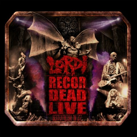 Lordi - Recorded Live Sextourcism In Z7 - DVD Cover