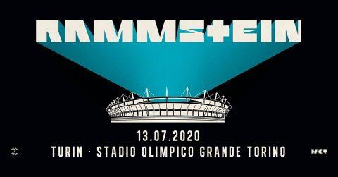 Rammstein - Stadio Olimpico Grande Torino - Tour 2020 - Promo