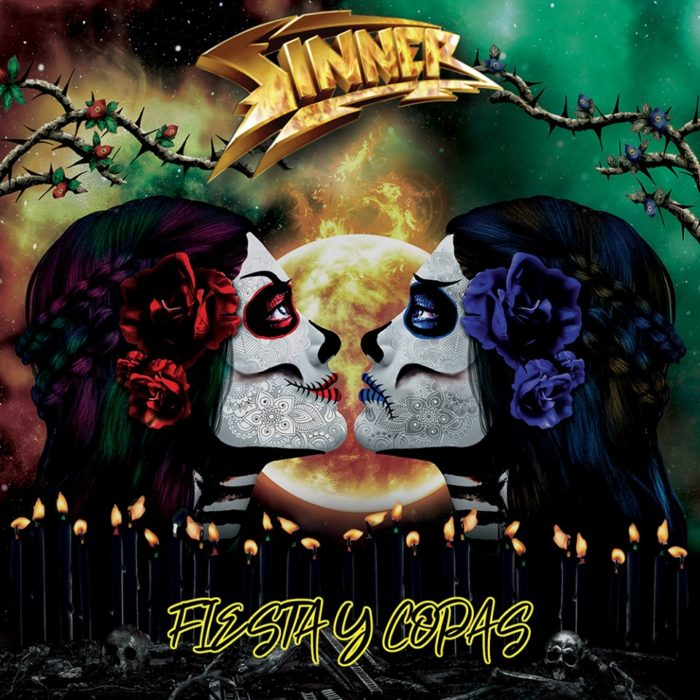 Sinner - Fiesta Y Copas - Single Cover