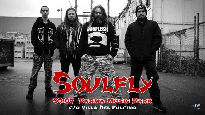 Soulfly - Parma Music Park - Tour 2019 - Promo
