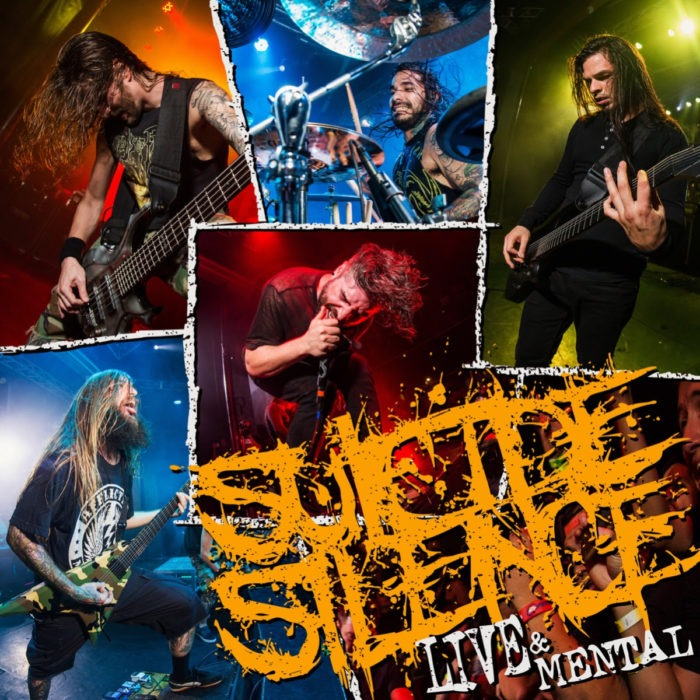 Suicide Silence - Live And Mental - Album Cover