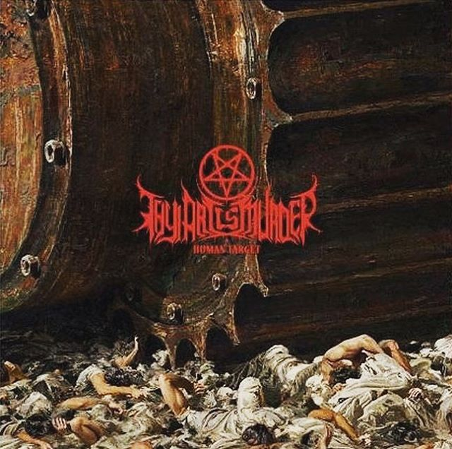 Thy Art Is Murder - Human Target - Album Cover
