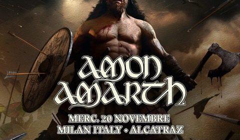 Amon Amarth - Alcatraz - Berserker World Tour 2019 - Promo