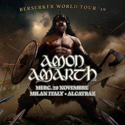 Amon Amarth - Alcatraz - Berserker World Tour 2019 - Promo