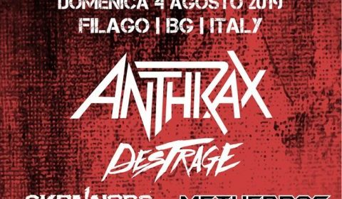 Anthrax - Metal For Emergency 2019 - Promo