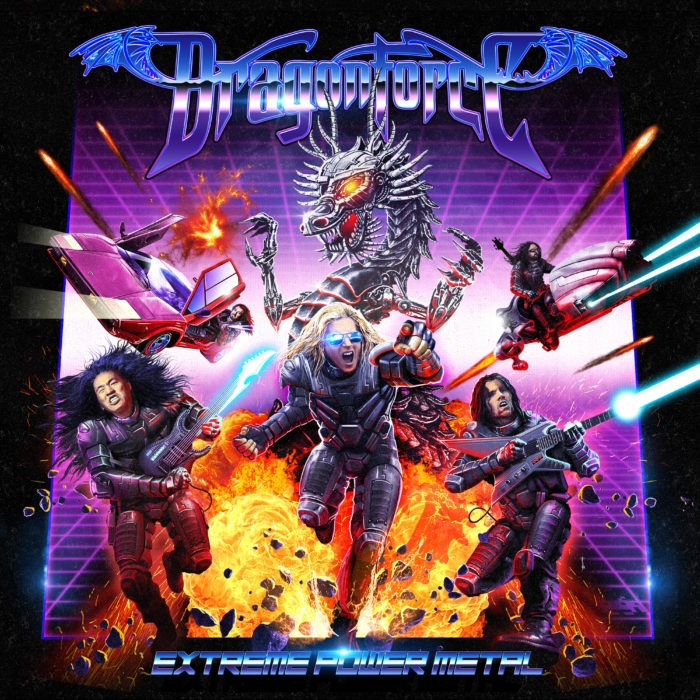 Dragonforce - Extreme Power Metal - Album Cover