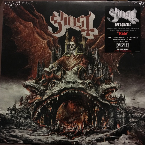Ghost - Prequelle - Album Cover