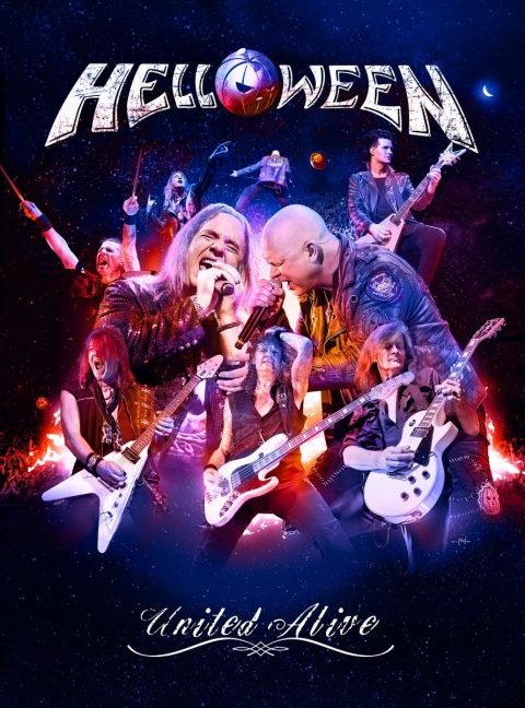 Helloween - United Alive & United Alive In Madrid - Abum/DVD Cover