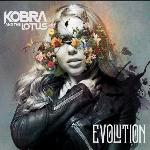 Kobra And The Lotus - Evolution - Album Cover