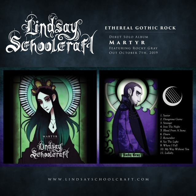 Lindsay Schoolcraft - Martyr - Album Cover