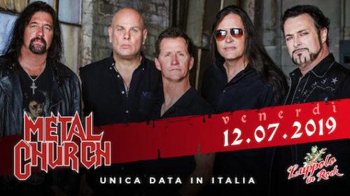 Metal Church - Tour 2019 - Promo