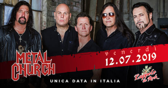 Metal Church - Tour 2019 - Promo