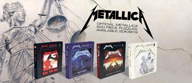 Metallica - Puzzle Cover