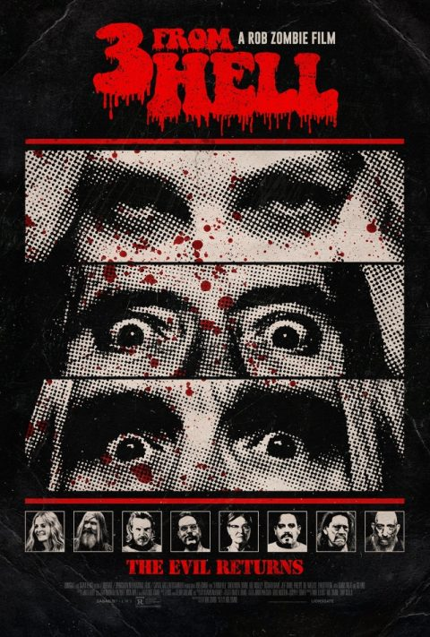 Rob Zombie - 3 From Hell - Poster