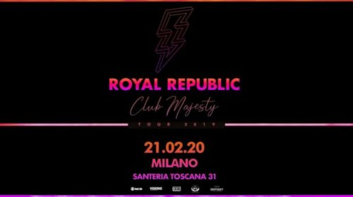 Royal Republic - Santeria Toscana 31 - Club Majesty Tour 2010 - Promo