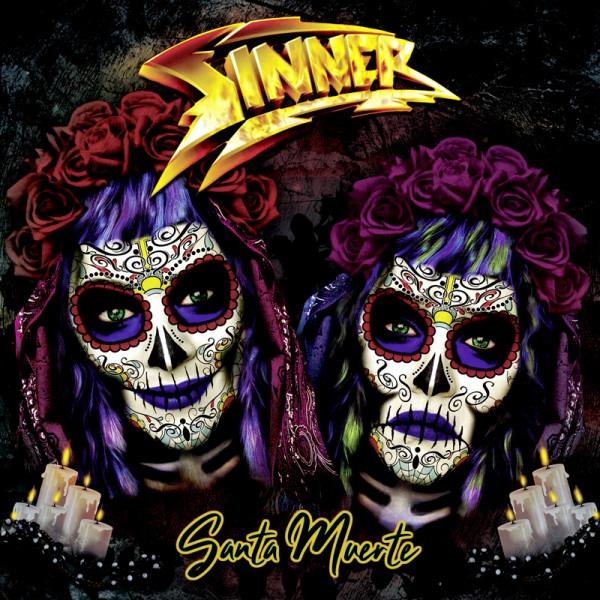 Sinner - Santa Muerte - Album Cover