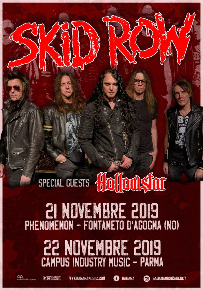 Skid Row - Hollowstar - Tour 2019 - Promo