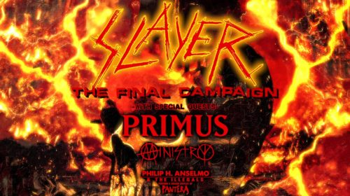 Slayer - Primus - Ministry - Philip H Anselmo The Illegals - The Final Compaign - Tour 2019 - Promo