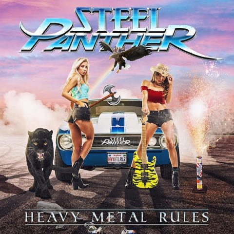 Steel Panther - Heavy Metal Rules - Album Cover