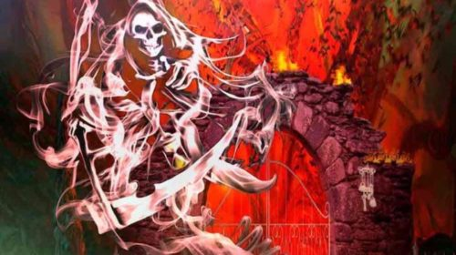 Steve Grimmett's - Grim Reaper - At The Gates - Album Cover