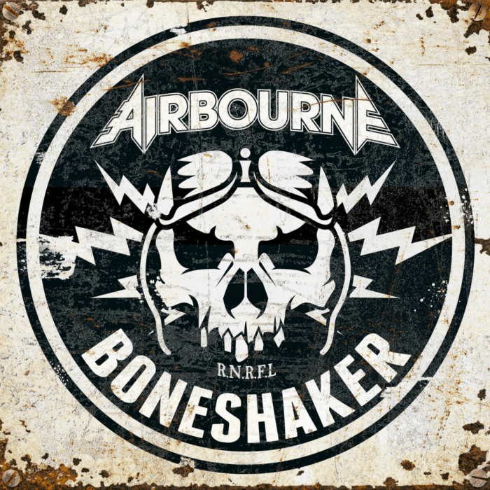 Airbourne - Boneshaker - Album Cover