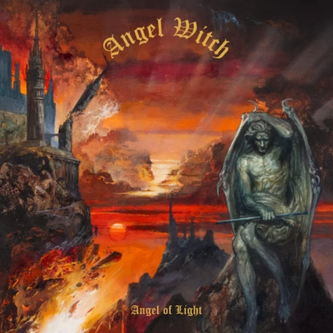 Angel Witch - Angel Of Light . Album Cover