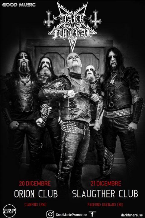 Dark Funeral - Italy Tour 2019 - Promo